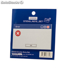 Set di Error Sticky Note