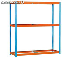set ecoforte 1504-3 blau/orange, 2000x1500x450mm, simonrack