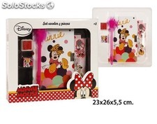 Set escolar 5 piezas Minnie Mouse