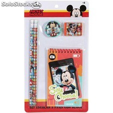 Set escolar 5 pzas block mickey - disney - mickey - 8433774622369 -