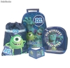 Set Escolar Monster University