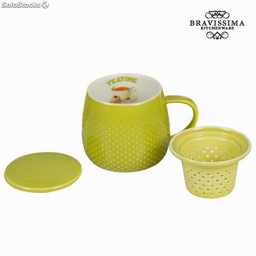 Set infusión tea time - Colección Kitchen's Deco by Bravissima Kitchen