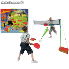 """Set juego """"Tailball"""" con red, marca Mookie"""