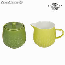 Set lechera azucarero tea time - Colección Kitchen's Deco by Bravissima Kitchen