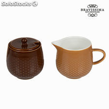 Set lechera y azucarero coffee - Colección Kitchen's Deco by Bravissima Kitchen