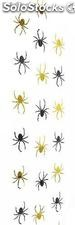 Set of 3 metallic spiders chains