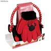 Set Orejeras mas Guantes Minnie Mouse
