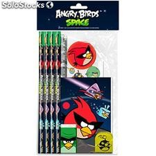 Set papeleria Angry Birds Space