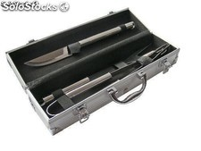 Set para asado Metal Box