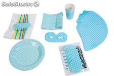 Set Party Baby Shower (7 Articulos Diferentes x 6 unidades)