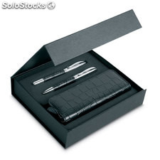 Set penna a sfera e roller IT3805-03, nero
