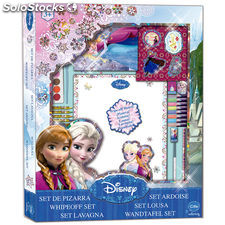 Set pizarra Frozen Disney