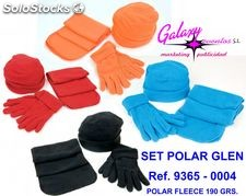 Set polar fleece glen