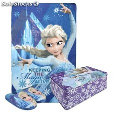 Set Polar Manta y Zapatillas Frozen