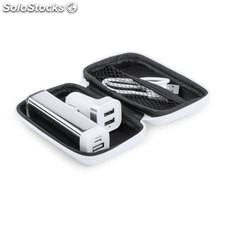 Set power bank blanco nacorap