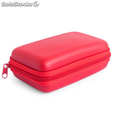 Set power bank rojo rebex