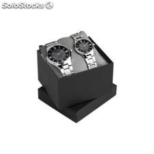 Set reloj para hombre y mujer two for time