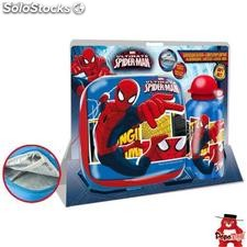 Set sandwichera termica + cantimplora aluminio Spiderman