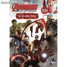 Set Sticker Pad avengers