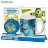 Set Taza + Despertador Monster University