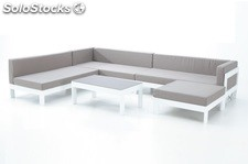 Set terraza sofa lounge modular laos