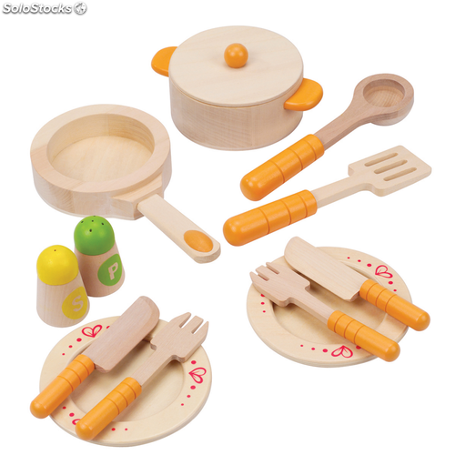 Set utensilios de cocina para ni os hape gourmet kitchen for Utensilios de cocina kitchen
