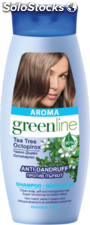 Shampoing antipelliculaire pour tout type de cheveux Aroma Greenline