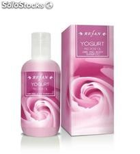 "Shampoing cheveux et corps ""Yogurt and rose oil"""