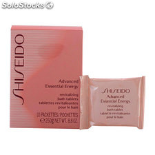 Shiseido - advanced essential energy revitalizing bath tablets 250 gr