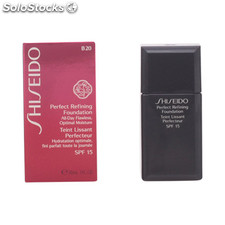 Shiseido - perfect refining foundation SPF15 B20 30 ml
