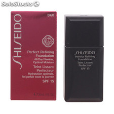 Shiseido - perfect refining foundation SPF15 B60 30 ml