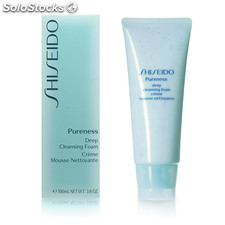 Shiseido - PURENESS deep cleansing foam 100 ml