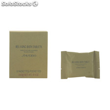 Shiseido - relaxing bath tablets 8 x 30 gr