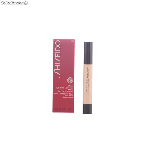 Shiseido sheer eye zone corrector #104-ochre 3,8 ml