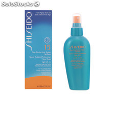 Shiseido sun protection oil-free SPF15 vaporizador 150 ml