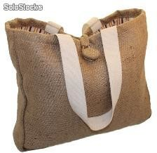 shopper en twill de jute