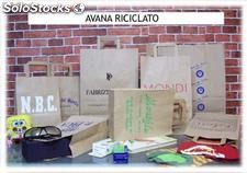 Shoppers in carta con stampa personalizzata