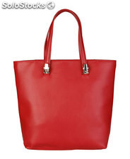 shopping bag donna cavalli class rosso (39008)