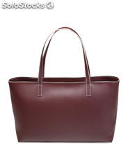 shopping bag donna made in italia rosso (32546)