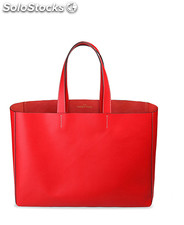 shopping bag donna made in italia rosso (32602)