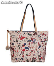 shopping bag donna piero guidi marrone (41815)