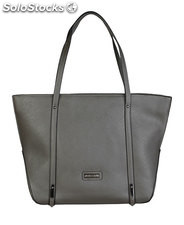 shopping bag mujer pierre cardin gris (40099)