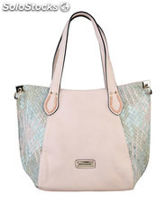 shopping bag mujer pierre cardin rosa (35452)