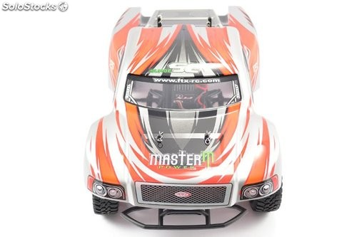 Short course eléctrico 4WD naranja RTR FTX 1/12 Surge brushed RC