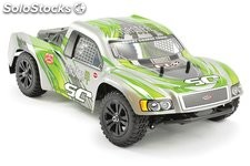 Short course Surge eléctrico 4WD verde 1:12 Brushed RTR FTX RC