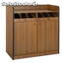 Short waiter's station - mod. 1620f - veneered chipboard structure - n. 2 doors