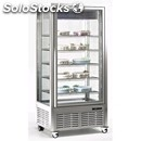Showcase for refrigerated island for pastry-mod. diva 650 g-external structure