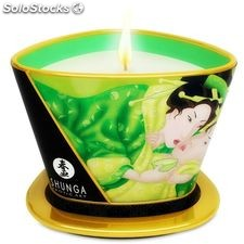 Shunga mini caress by candelight vela masaje té verde 170ML