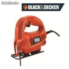 Sierra caladora de 1 velocidad black and decker