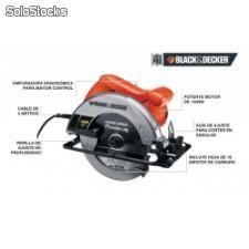 "Sierra circular de 7-1/4"" black and decker"